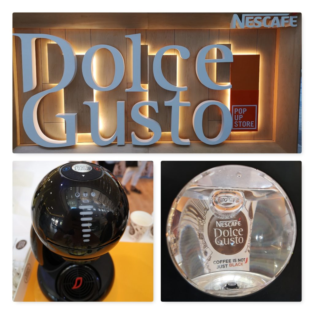 Dolce Gusto pop up store